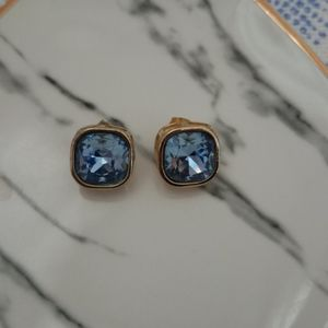 Blue stone earrings from The Limited